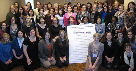 Institute for Academic Feminist Psychologists participants