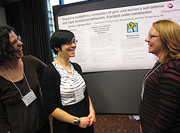 Poster session participants