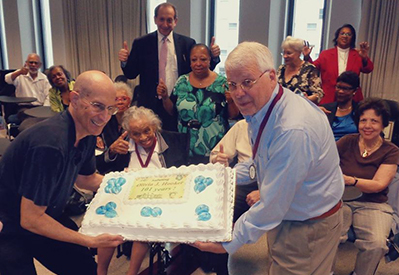 Celebrating Olivia J. Hooker at 101