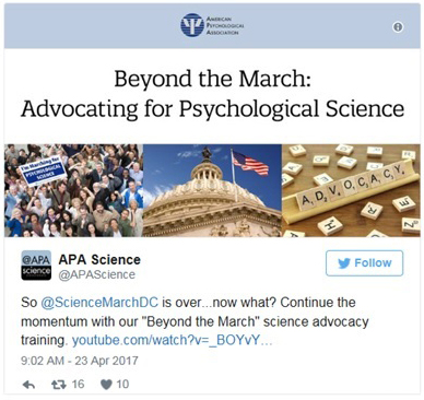 Beyond the March for Science