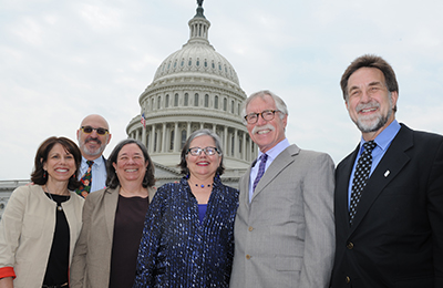 Some of the members of the Planning Committee (left to right): Karen Saywitz, PhD; Don Wertlieb, PhD; Marty Zaslow, PhD; Mary Ann McCabe, PhD; Barry Anton, PhD, ABPP; Rick Barth, MSW, PhD