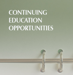 Continuing Education Opportunities
