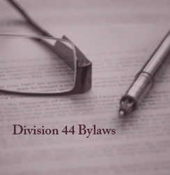 Division 44 Bylaws