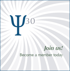 Become a member of Division 30