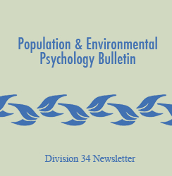 Population and Environmental Psychology Bulletin