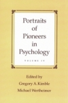 Portraits of Pioneers in Psychology: Volume IV