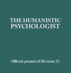 The Humanistic Psychologist