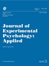 Journal of Experimental Psychology