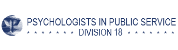 Division 18: Psychologists in Public Service