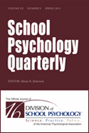 School Psychology Quarterly®