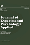 Journal of Experimental Psychology: Applied®