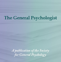 The General Psychologist